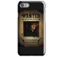 Buffy Caleb Nathan Fillion Wanted 5 iPhone Case/Skin