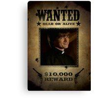 Buffy Caleb Nathan Fillion Wanted 5 Canvas Print
