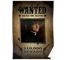 Buffy Caleb Nathan Fillion Wanted 5 Poster