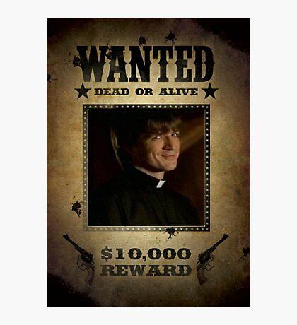 Buffy Caleb Nathan Fillion Wanted 5 Photographic Print