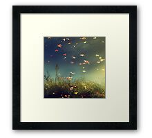 Fiction Framed Print