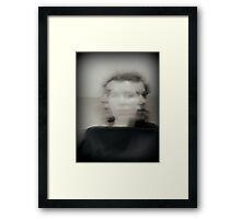 borderline Paranoia Framed Print