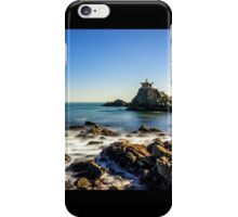 Temple by the sea iPhone Case/Skin