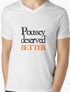 Poussey deserved better Mens V-Neck T-Shirt