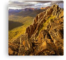 Afternoon light on Mount Hyperion Canvas Print