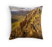 Afternoon light on Mount Hyperion Throw Pillow