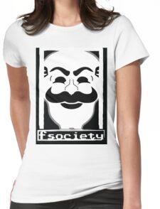 F*** Society! - Mr. Robot - Womens Fitted T-Shirt
