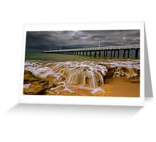 """Storm Surge"" Greeting Card"