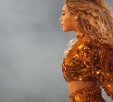 QUEEN B - GOLD Sticker