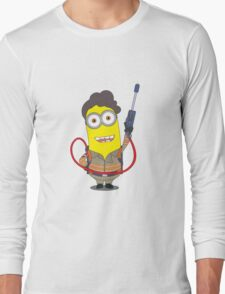 Minion Ghostbuster Long Sleeve T-Shirt