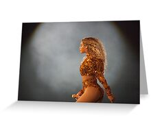 QUEEN B - GOLD Greeting Card