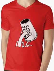 Hotdog Fury Mens V-Neck T-Shirt