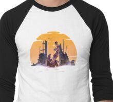 Revolver Sunset Men's Baseball ¾ T-Shirt
