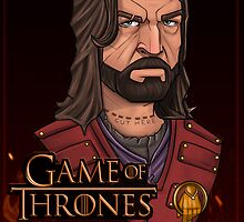 NED STARK by xaggerate