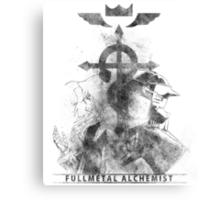 Fullmetal Brothers v2 Canvas Print