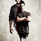 supernatural - dean and sam by superwholock97