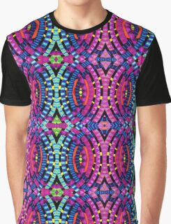 Psychedelic Abstract colourful work 64 Graphic T-Shirt