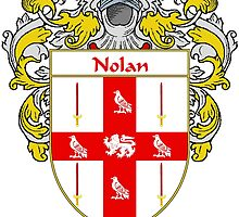 Nolan Coat of Arms/Family Crest by William Martin