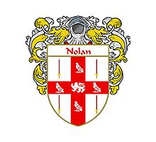 Nolan Coat of Arms/Family Crest Photographic Print