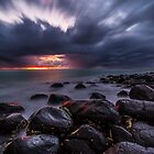 Stormy Burleigh Heads Sunrise by McguiganVisuals