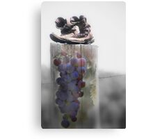 Surreal Montage Print - Grapes of Wrath Canvas Print