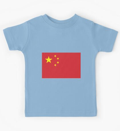 The Flag of China If you like, please purchase, try a cell phone cover thanks Kids Tee