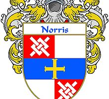 Norris Coat of Arms/Family Crest by William Martin