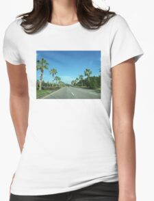 Orlando Road Womens Fitted T-Shirt