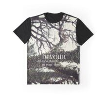 Devour All Who Stand In Your Way (Trees) Graphic T-Shirt