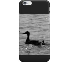 WITH SPRING DUCKLING iPhone Case/Skin