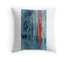 Encaustic Throw Pillow