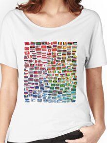 World Flags Women's Relaxed Fit T-Shirt