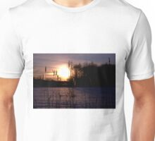 Dawn Through the Reeds Unisex T-Shirt