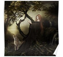 Gaia Greek Goddess of the Earth Poster