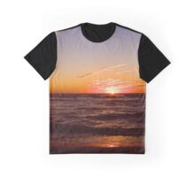 Sanibel Sunset Graphic T-Shirt