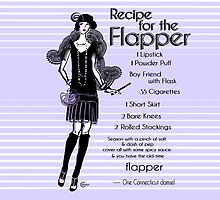 1920s Recipe for Flapper Girl (in Lavender) by CecelyBloom