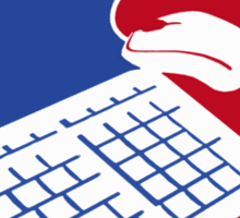 National Gamers Association  Sticker