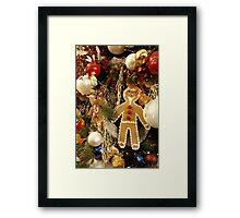 Christmas decoration at the KaDeWe shopping centre Framed Print