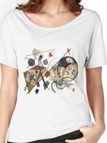 Kandinsky, Transverse line Women's Relaxed Fit T-Shirt