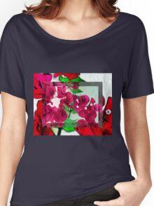 Bougainvillea Art Women's Relaxed Fit T-Shirt
