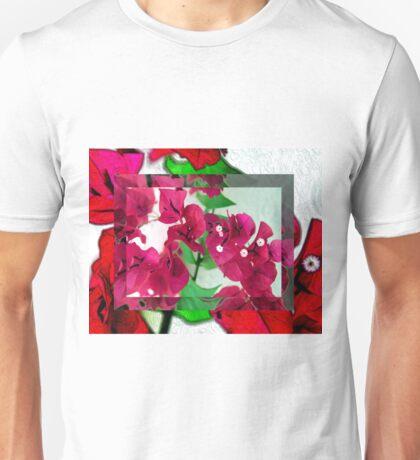 Bougainvillea Art Unisex T-Shirt