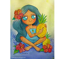 """""""Pineapples For Me"""" Photographic Print"""