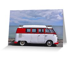 On the road again ! Greeting Card