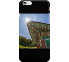 South Korean temple iPhone Case/Skin