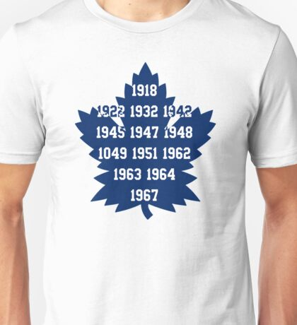TML Stanley Cup Years V.2 Unisex T-Shirt