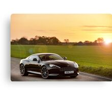 Aston Martin DB9 Carbon Black Edition ... Canvas Print