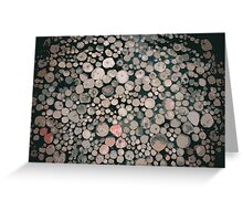 Lots of Logs Greeting Card