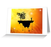 Slice of Earth Greeting Card