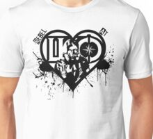 Rebel At Heart Unisex T-Shirt