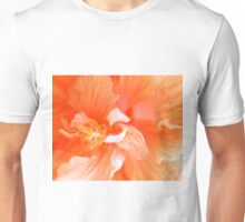 Orange Hibiscus Art Unisex T-Shirt